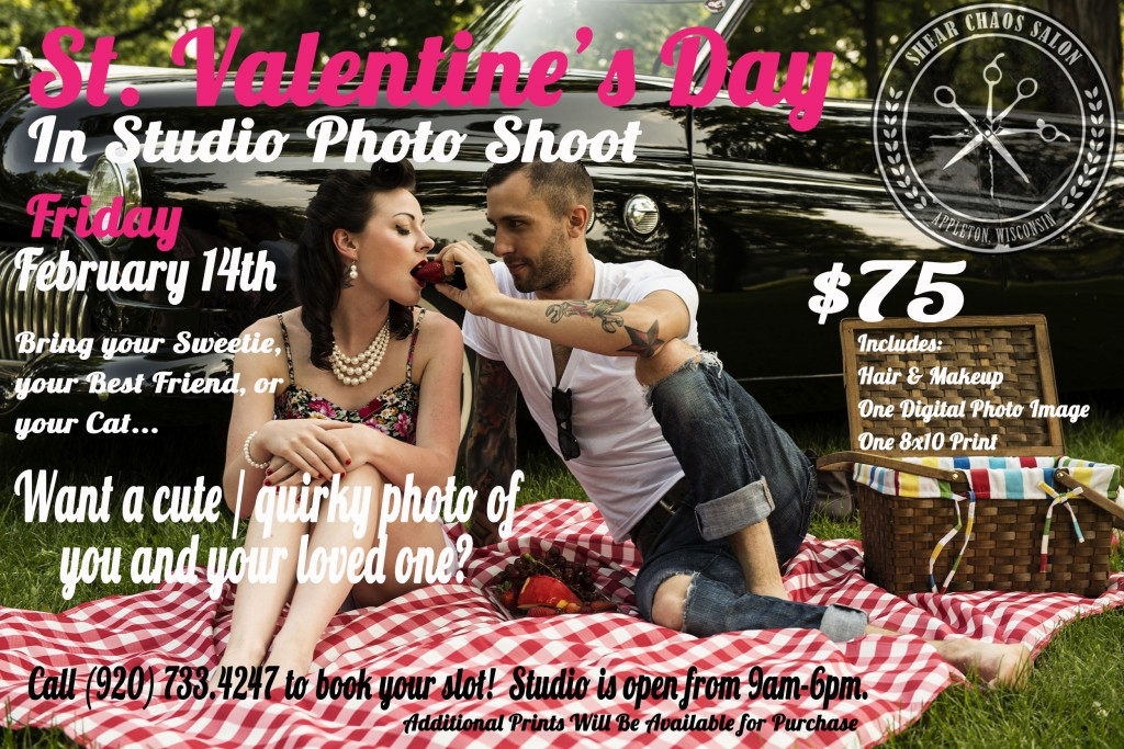 VD photoshoot flyer pink